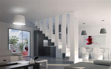 HD wallpapers maison moderne sur terrain en pente
