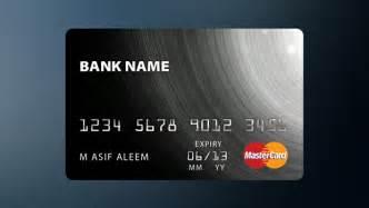 mastercard design credit card template psd freebies gallery