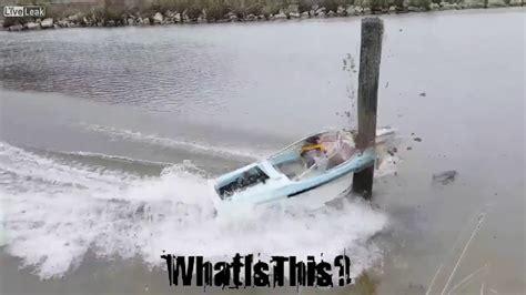Speed Boat Crash Youtube by Holla Back Girl Remix Speed Boat Crash Youtube
