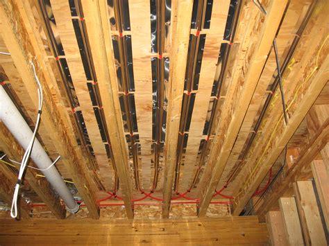 pex radiant floor heating installing radiant floor heating bend oregon bend heating