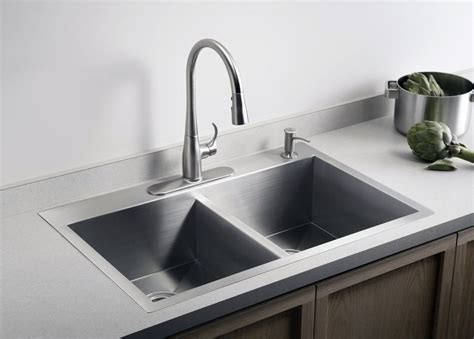 dual mount sink opens  options  kitchen counter