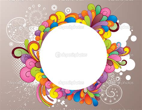 colorful picture frames colorful frames clipart colorful pencils frame 3