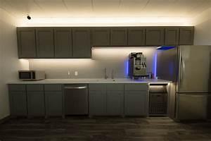 Kitchen Under Cabinet Lighting  Sirs-e Break Room