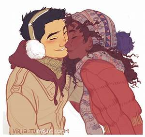 Hazel Levesque and Frank Zhang by Viria   I ...
