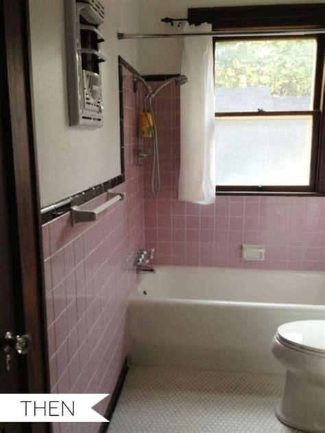 pink tile bathroom ideas pink tile bathroom decorating ideas