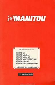 Controle Technique Ploemeur : notice instructions manitou mlt 629 730 633 730 ~ Nature-et-papiers.com Idées de Décoration