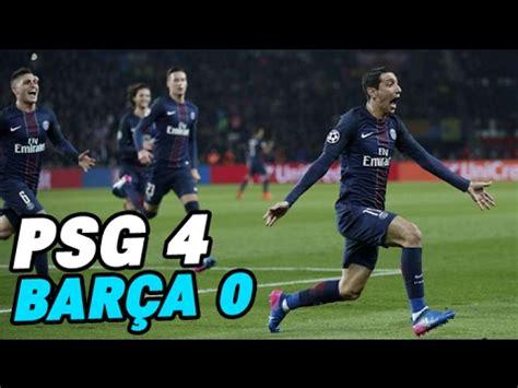 RÉsumÉ Paris Saint Germain  Fc Barcelone (40) Doovi