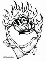 Coloring Fire Dragon Flames Heart Wings Hearts Printable Map Getdrawings Clipartmag Getcolorings sketch template