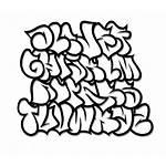 Graffiti Bubble Alphabet Letters Cool Generator Font