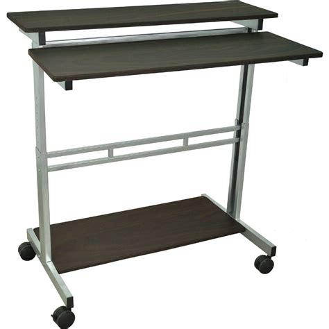 adjustable stand up desk luxor standup 40 b or standup 40 dw adjustable stand up desk