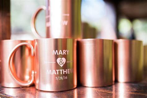 Engraved Copper Mugs Wedding Favors Weddingfavorsmugs
