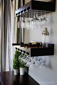 17 best images about wine glass storage on pinterest With best brand of paint for kitchen cabinets with city of chicago city sticker