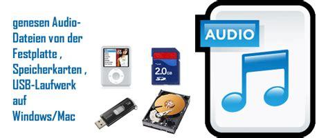 genesen geloescht audio dateien von der festplatte usb