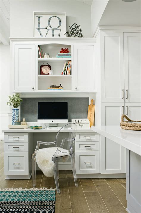 Kitchen With Desk Area by Interior Design Ideas Home Bunch Interior Design Ideas