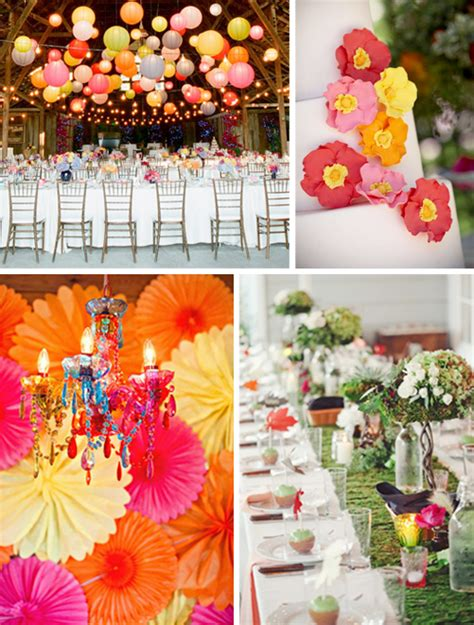 yellow and orange wedding decorations rene design weddings events home decor fashion more march 2012
