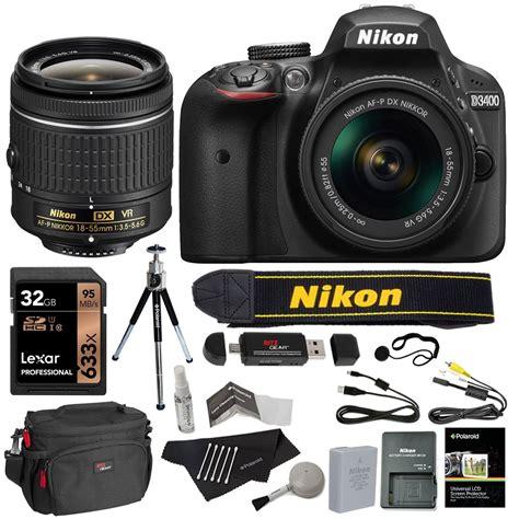 nikon  dslr camera   mm lens kit black