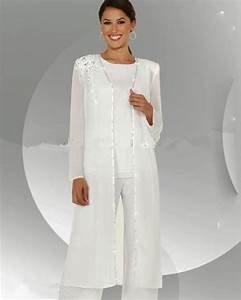 customize mother of the bride dresses chiffon pants suit With dress pant suits for weddings