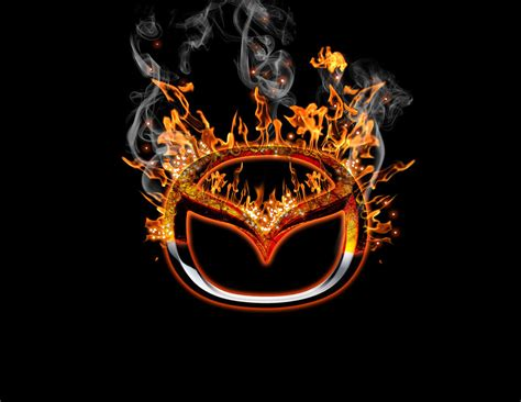 logo de mazda burning mazda logo by battosai72 on deviantart