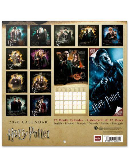 calendario harry potter