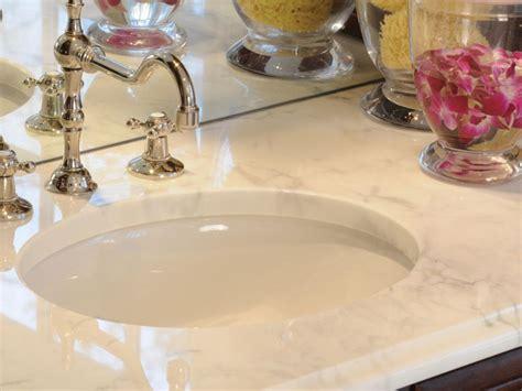 Bathroom Vanity Countertop Materials by Choosing Bathroom Countertops Hgtv