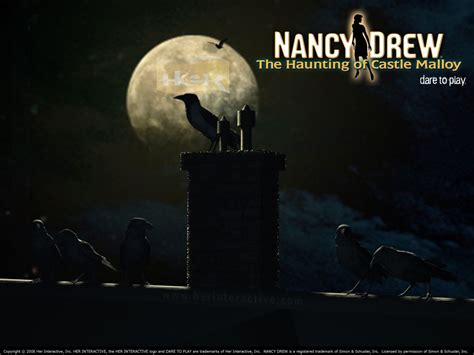 Wallpaper Of The Crows From Nancy Drew The Haunting Of