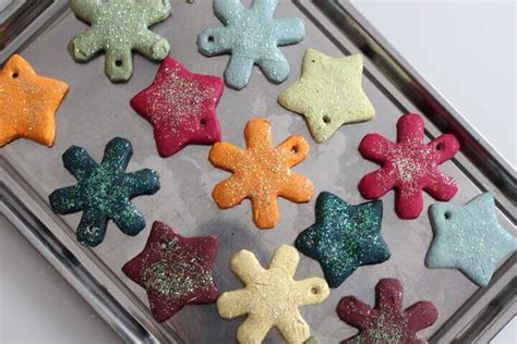 classic salt dough recipe for christmas ornaments salt dough ornament recipe