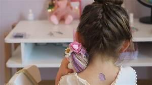Coiffure Enfant Tresse : tutoriel coiffure enfant chignon tress youtube ~ Melissatoandfro.com Idées de Décoration