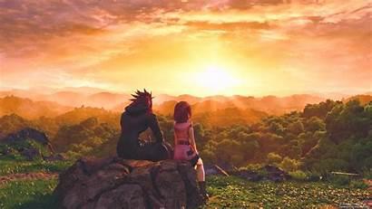 Hearts Kingdom Fantasy Final Kairi Axel Characters