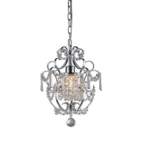 Hanging From The Chandeliers by Warehouse Of 1 Light Silver