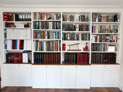wall unit bespoke built in bookshelves bespoke bookcases