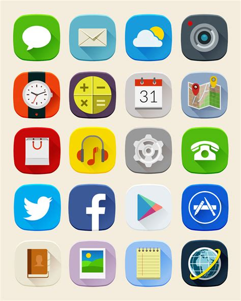 shadow mobile icons free png web icons