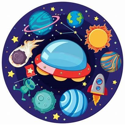 Vector Solar System Clipart Clip Illustrations Planets