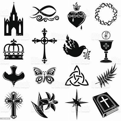 Symbols Christian Cross Christianity Clip Clipart Istock
