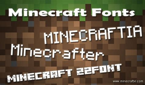 Top 3 Best Minecraft Fonts With Download