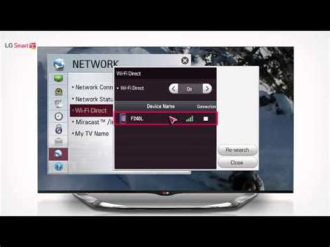 connect iphone to lg smart tv lg smart tv smartshare wifi direct