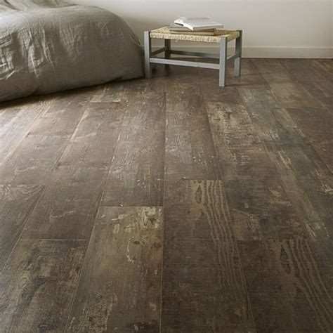 stratifié chambre sol stratifié aero déco ép 7 mm décor bois vieilli