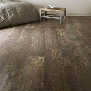 sol stratifie aero deco ep 7 mm decor bois vieilli With parquet stratifié 7 mm