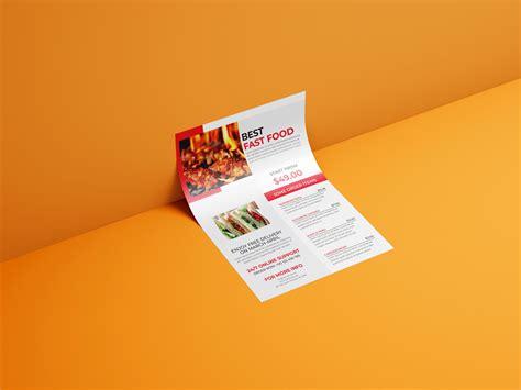 food flyer design print ready template