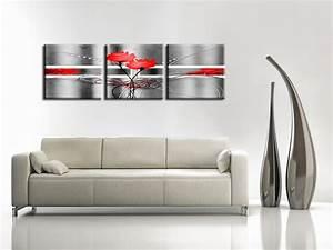 Tableau Triptyque Moderne : le tableau triptyque hexoa ~ Teatrodelosmanantiales.com Idées de Décoration
