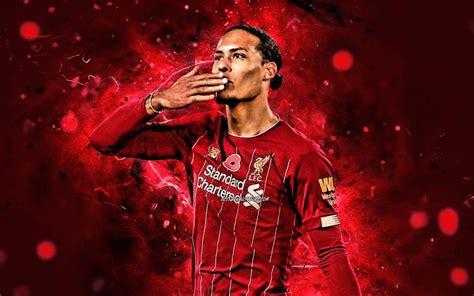 Download imagens Virgil van Dijk, 2020, holandês jogadores ...
