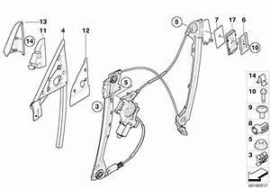 Bmw Window Regulator Slider Clip E36  E85  E86  E92  E93 3