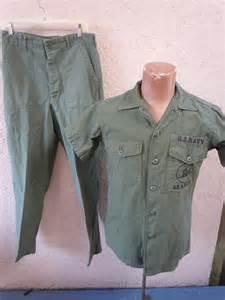 Vietnam US Navy Seabees Uniforms