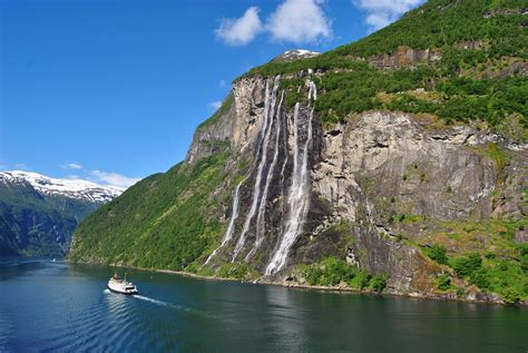Geirangerfjord One Of The Prettiest Sights In Norway