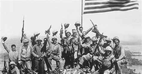 Battle of Iwo Jima recalled by veterans 70 years later ...