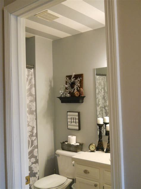 Bathroom Ceiling Color Ideas by Striped Bathroom Ceiling Hometalk