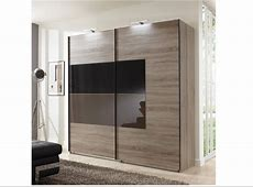 Two Door Sliding Glass Wardrobe Design Id548 Sliding Two