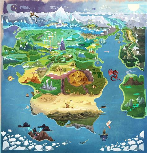equestria daily mlp stuff map  equestria updated