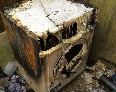 indesit tumble dryer fire guts guildford home
