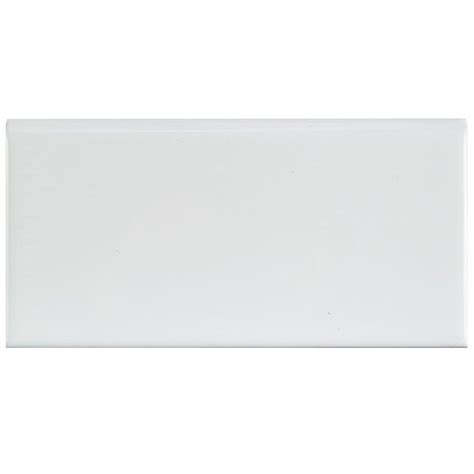 Daltile Arctic White Subway Tile Bullnose by Bullnose Subway Tile Charming Kitchen Cabinet With