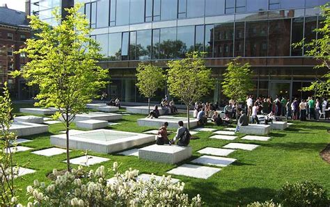 northwest laboratory courtyard the landscape architect s guide to boston
